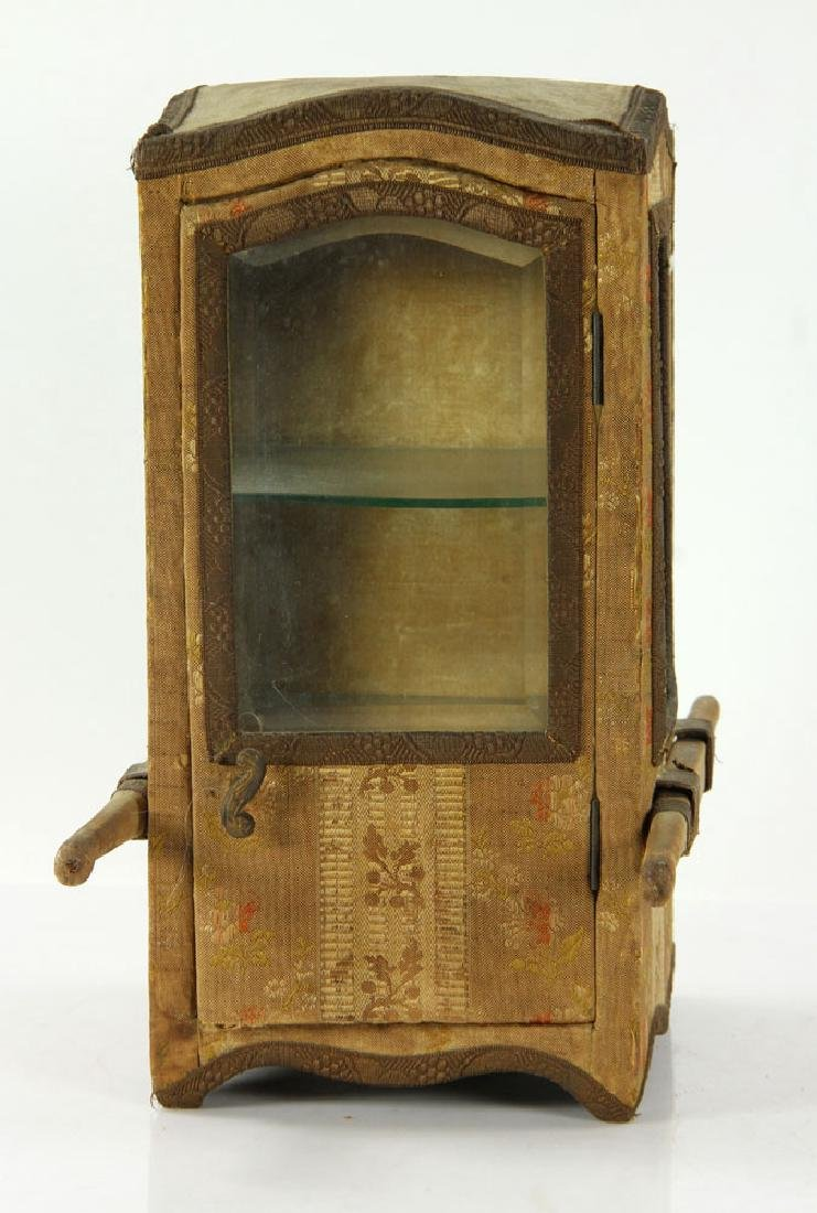 French Miniature Carriage Coach Display Cabinet - 5