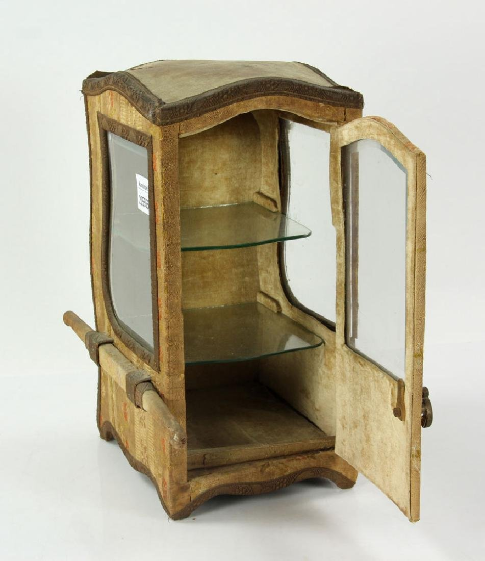 French Miniature Carriage Coach Display Cabinet - 6