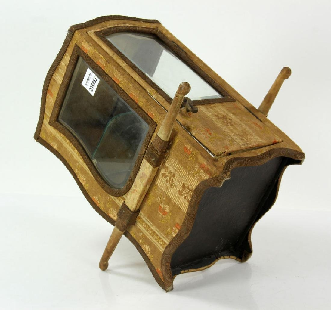 French Miniature Carriage Coach Display Cabinet - 8