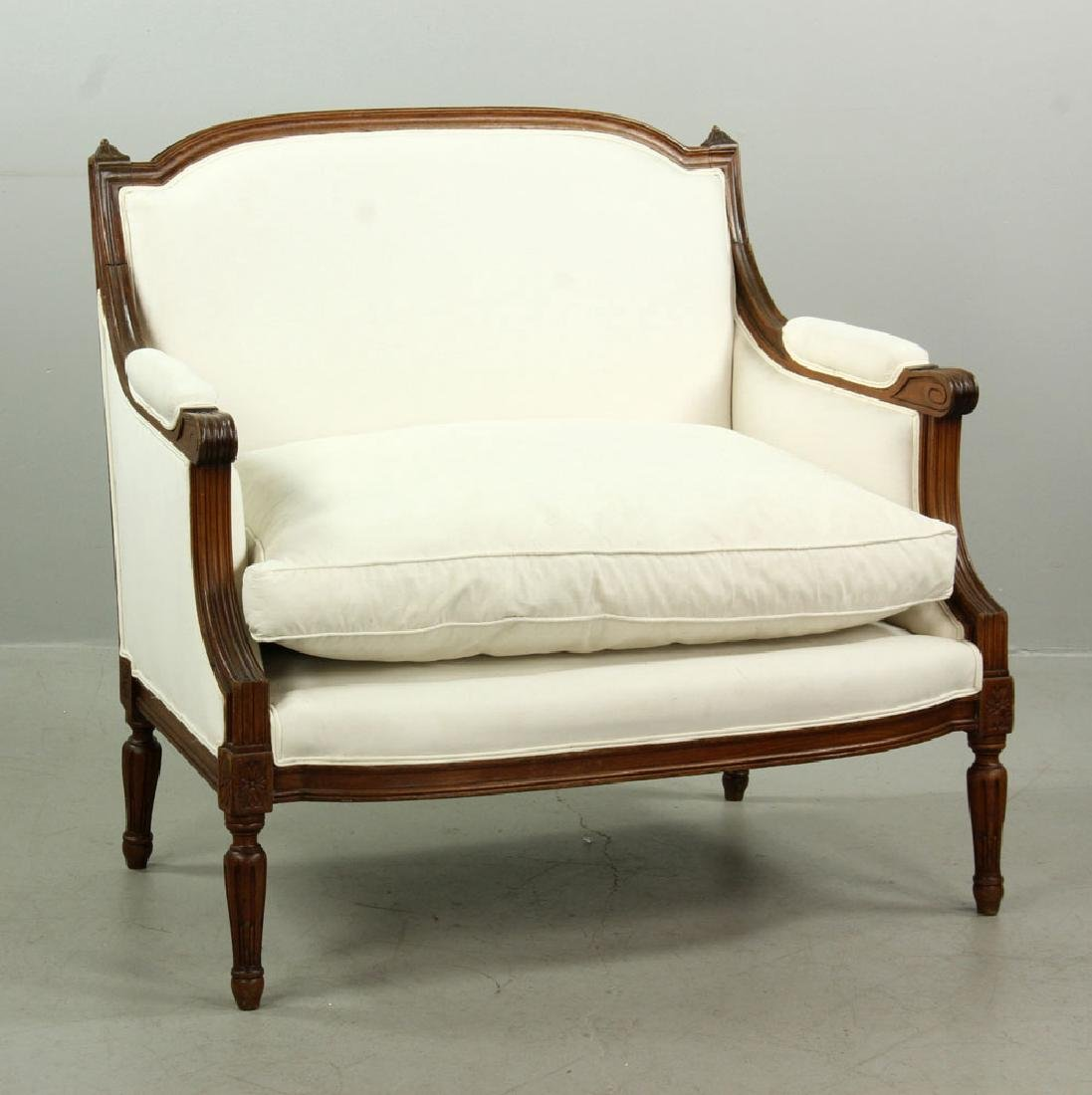 French Marquis Bergere Chair