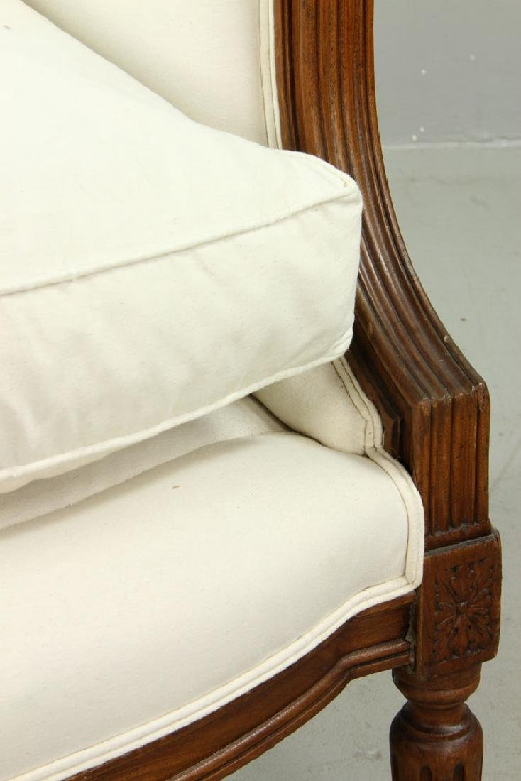 French Marquis Bergere Chair - 5