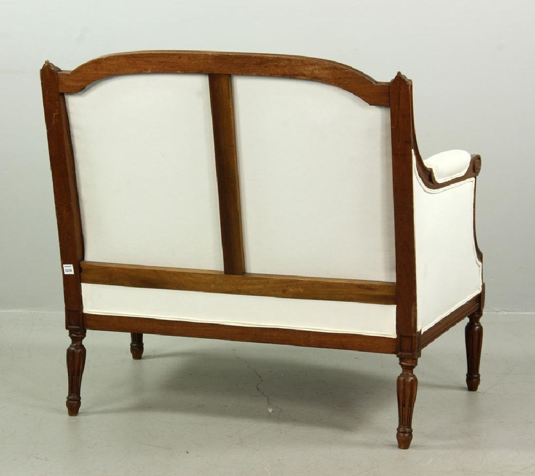 French Marquis Bergere Chair - 6