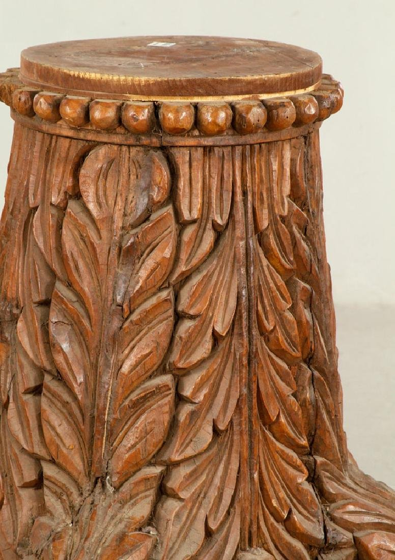 Large Decorative Column Base - 2
