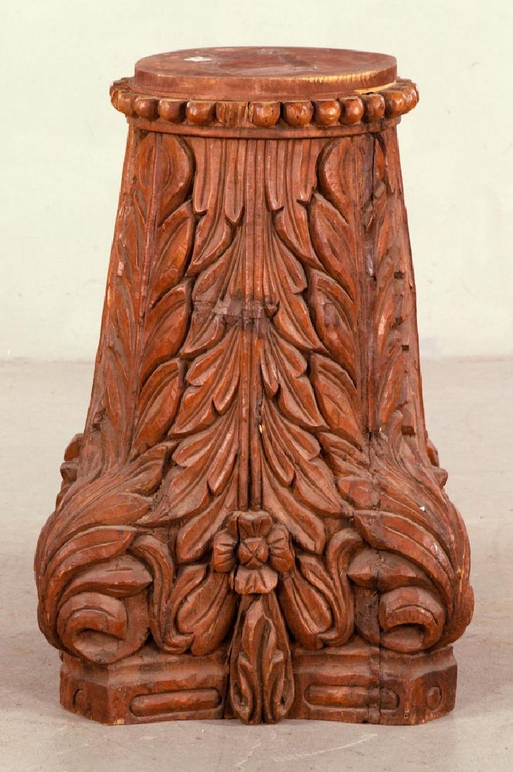 Large Decorative Column Base - 4