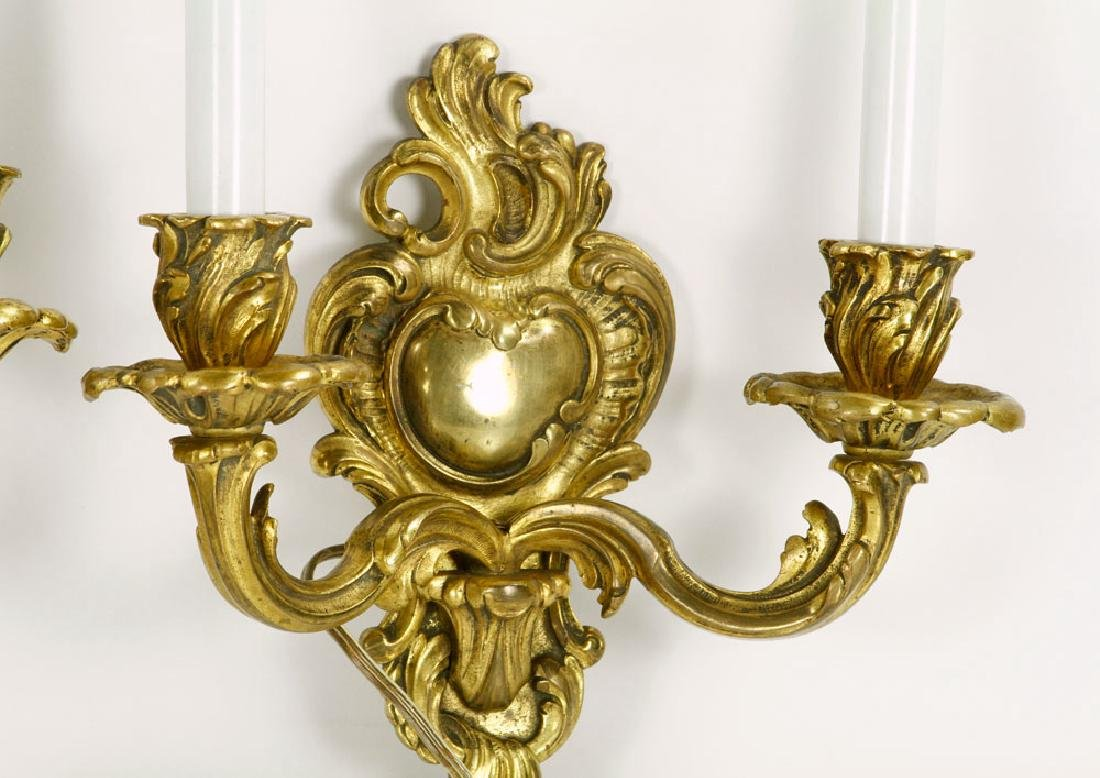 Pair 19th C. French Sconces - 2