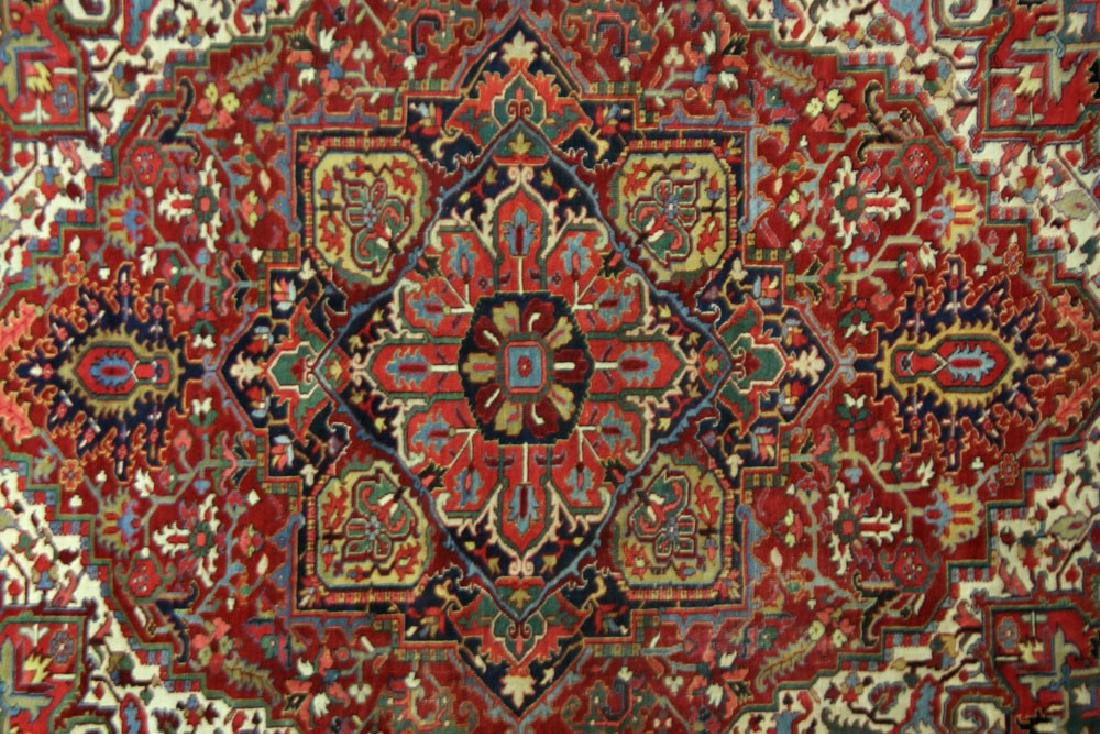 Semi-Antique Heriz Carpet - 2