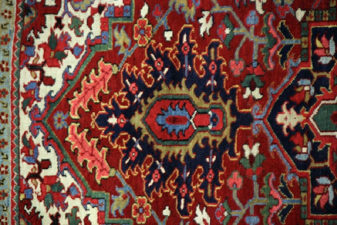 Semi-Antique Heriz Carpet - 3
