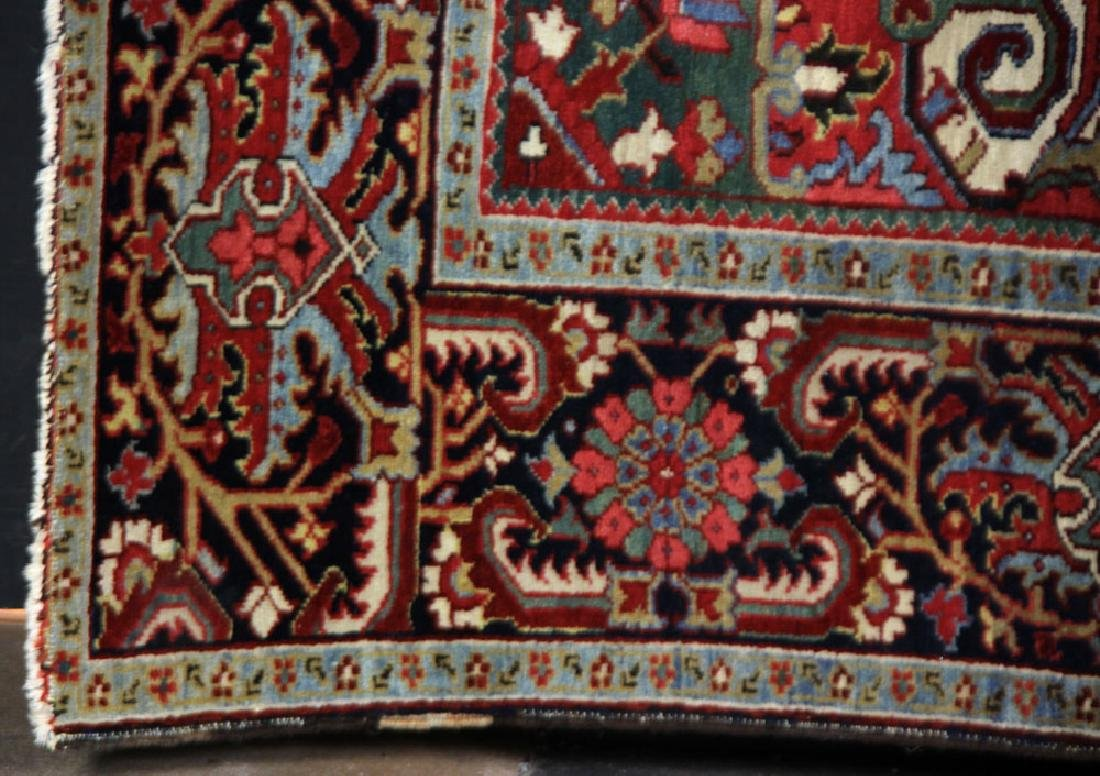 Semi-Antique Heriz Carpet - 4