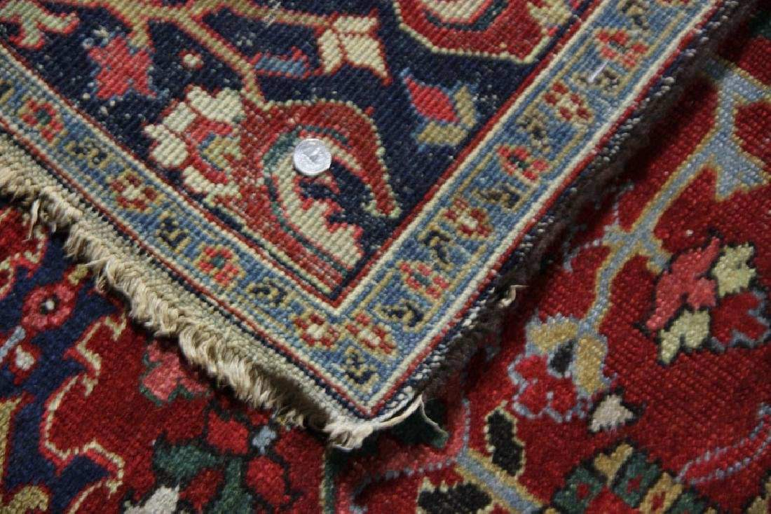 Semi-Antique Heriz Carpet - 5
