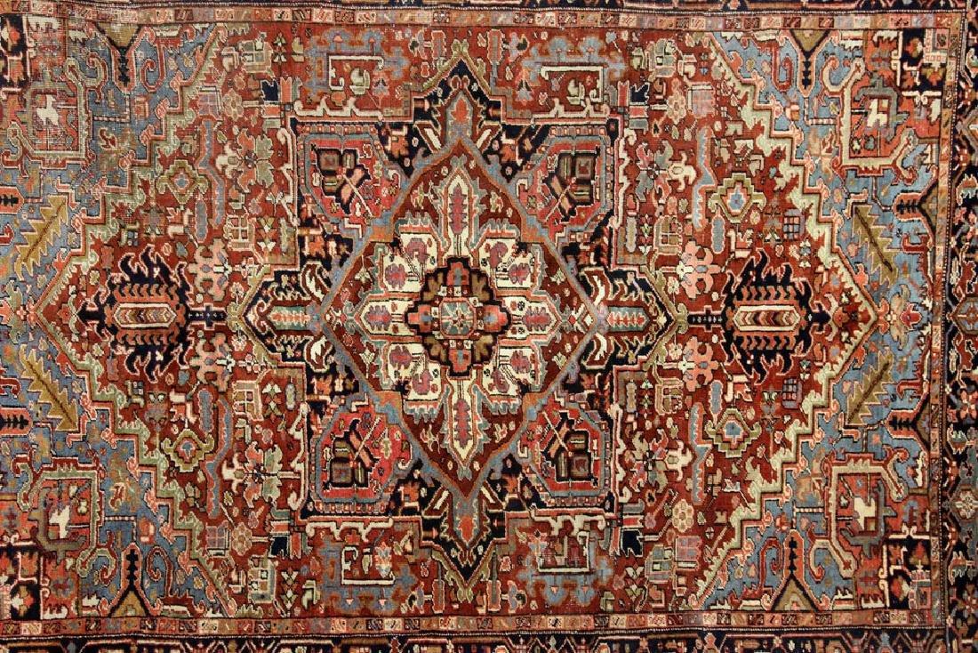 Antique Persian Heriz Rug - 2