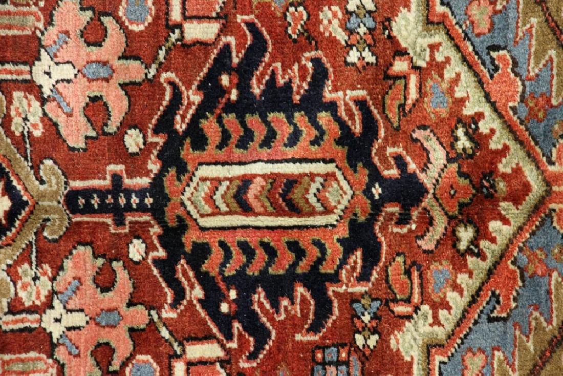 Antique Persian Heriz Rug - 5