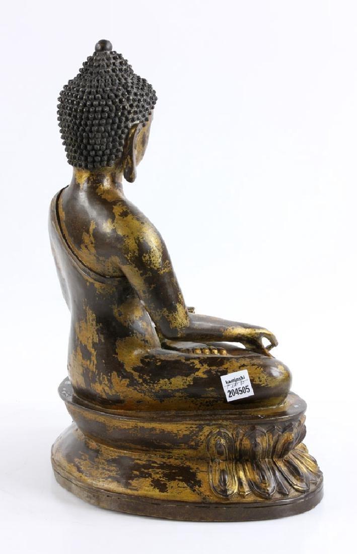 Gilt Bronze Buddha Figure - 6