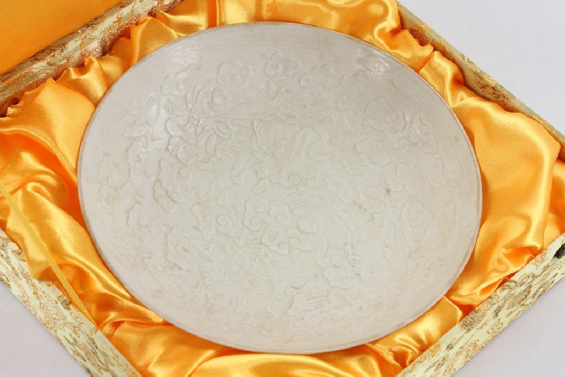 Chinese Ding Ware Style Dish - 4