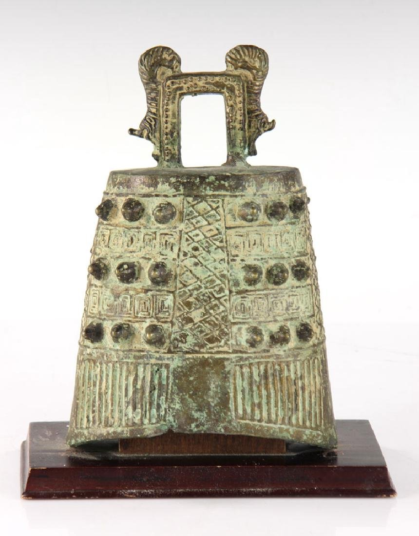 Chinese Bronze Bell - 2