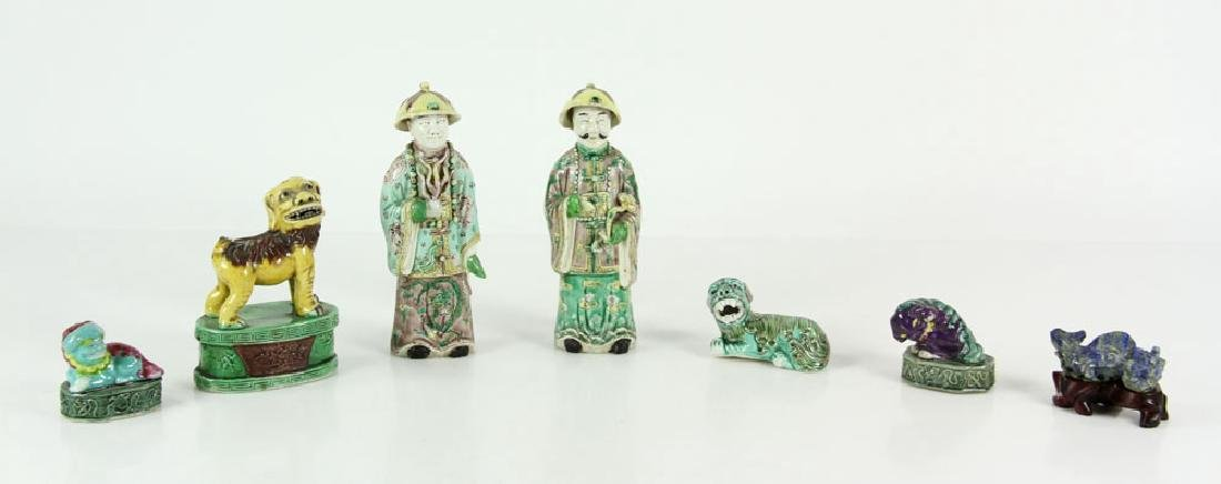 Collection of Chinese Porcelain Items