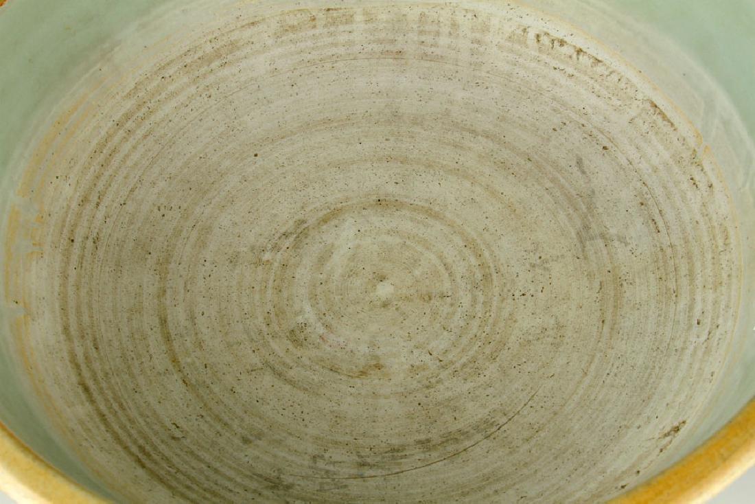 Japanese Celadon Bowl - 4