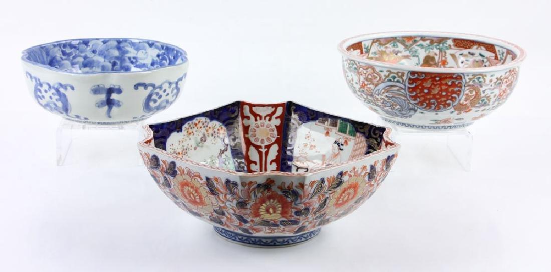 Three Japanese Imari Bowls - 2