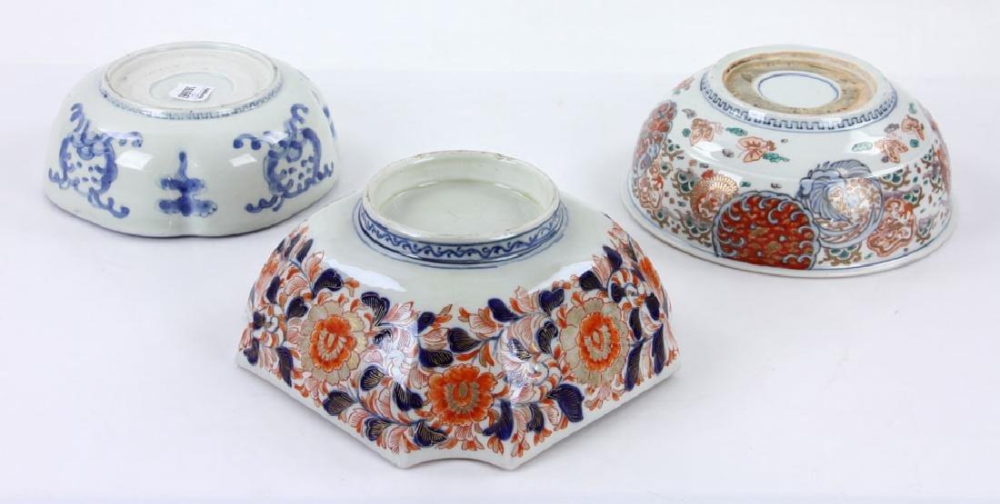 Three Japanese Imari Bowls - 3