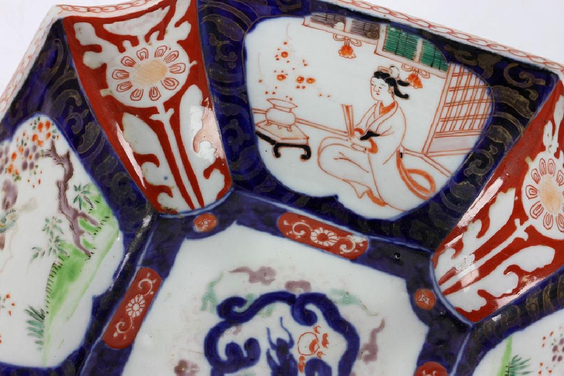 Three Japanese Imari Bowls - 8