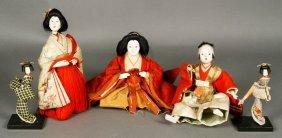 Five Japanese Dolls