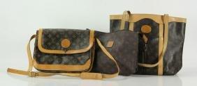 Three Louis Vuitton Bags