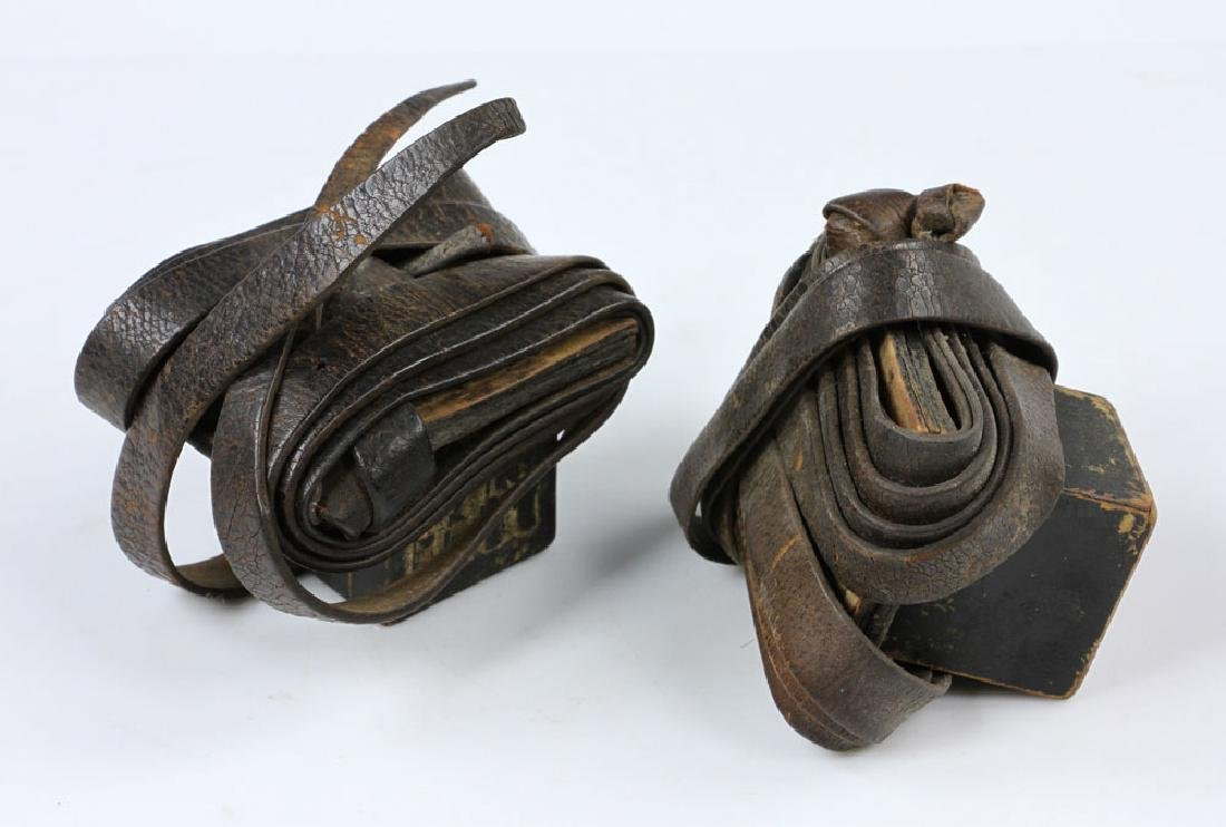 Pair of 19th C. Tefillin