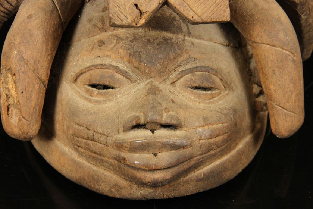 Sierra Leonean Carved Mask - 4