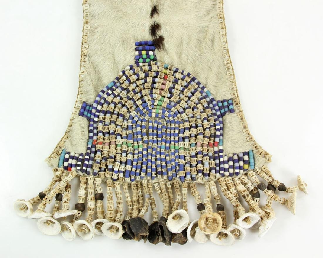 Kenyan Beaded Breast Collar - 2