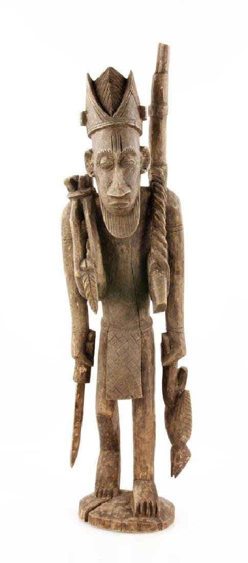 African Warrior Figure