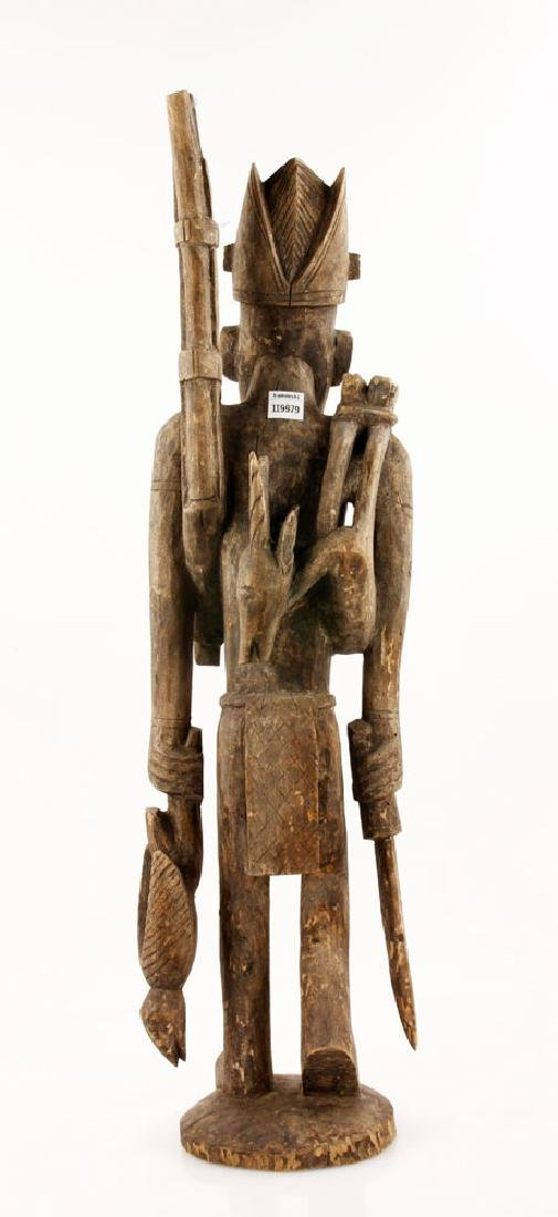 African Warrior Figure - 2