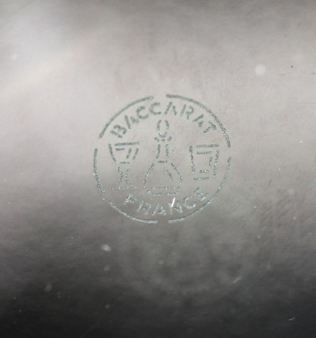 """Baccarat """"Tornedo"""" Vase - 10"""