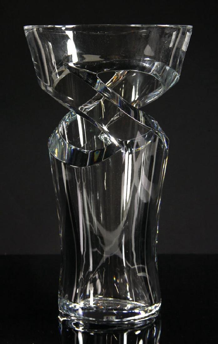 """Baccarat """"Tornedo"""" Vase"""