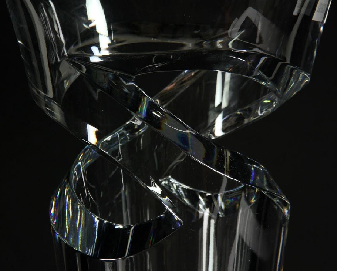 """Baccarat """"Tornedo"""" Vase - 4"""