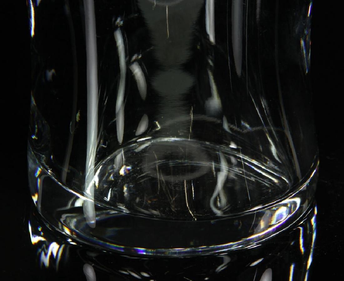 """Baccarat """"Tornedo"""" Vase - 5"""