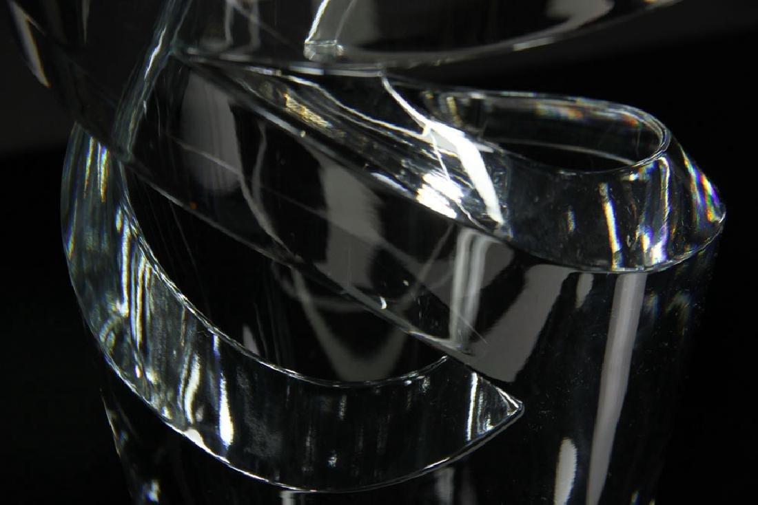 """Baccarat """"Tornedo"""" Vase - 7"""