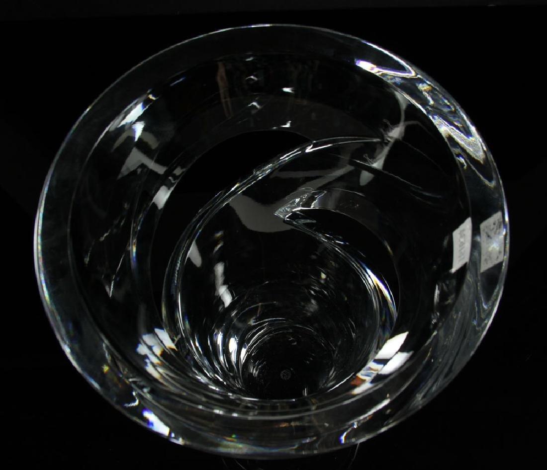 """Baccarat """"Tornedo"""" Vase - 8"""
