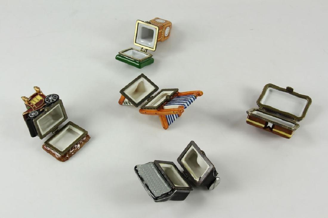 11 Enameled Figural Boxes - 4