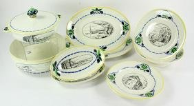 Lot of French HBCM China