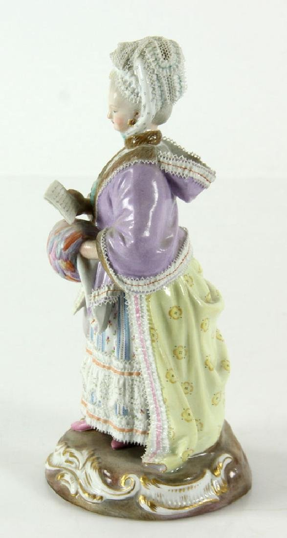 Meissen Porcelain Figure - 3