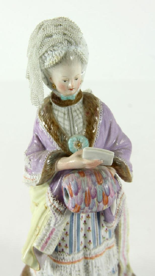 Meissen Porcelain Figure - 4