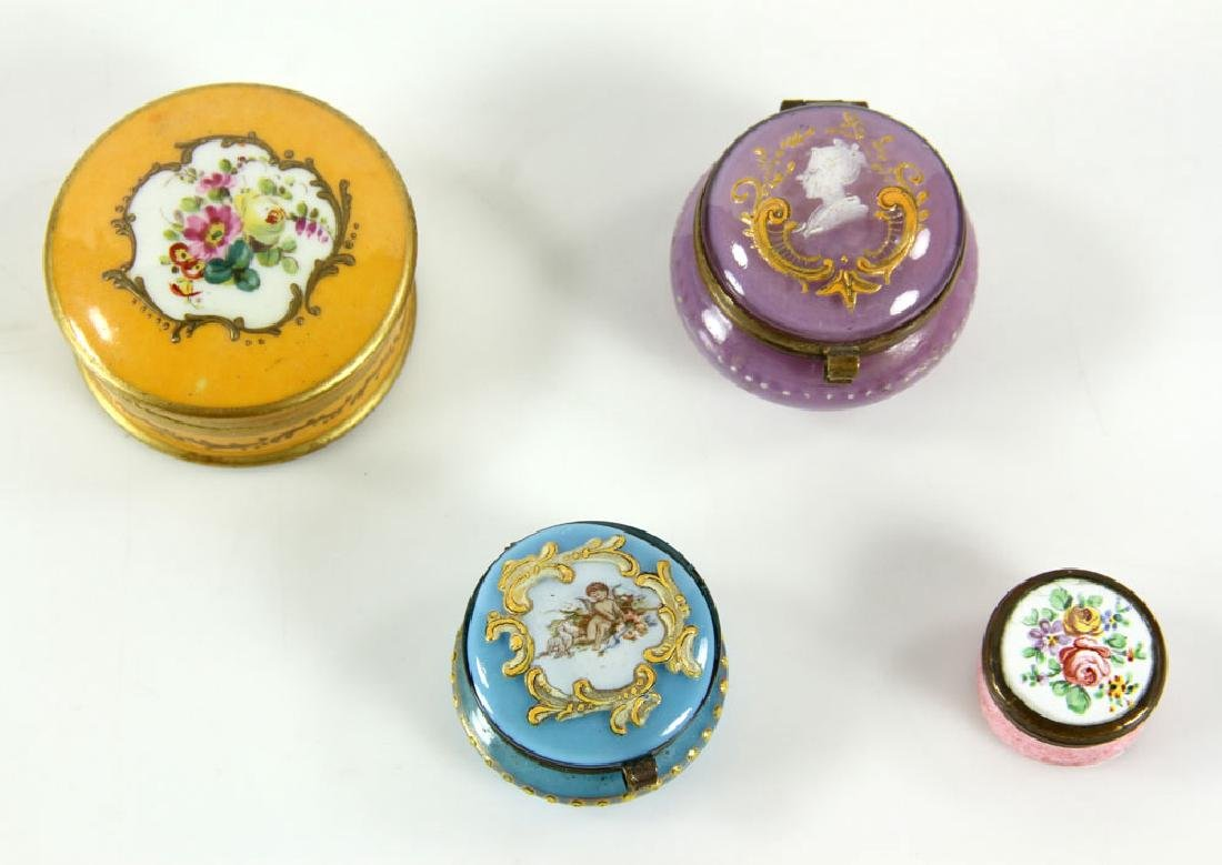 Group of Continental Porcelain - 5