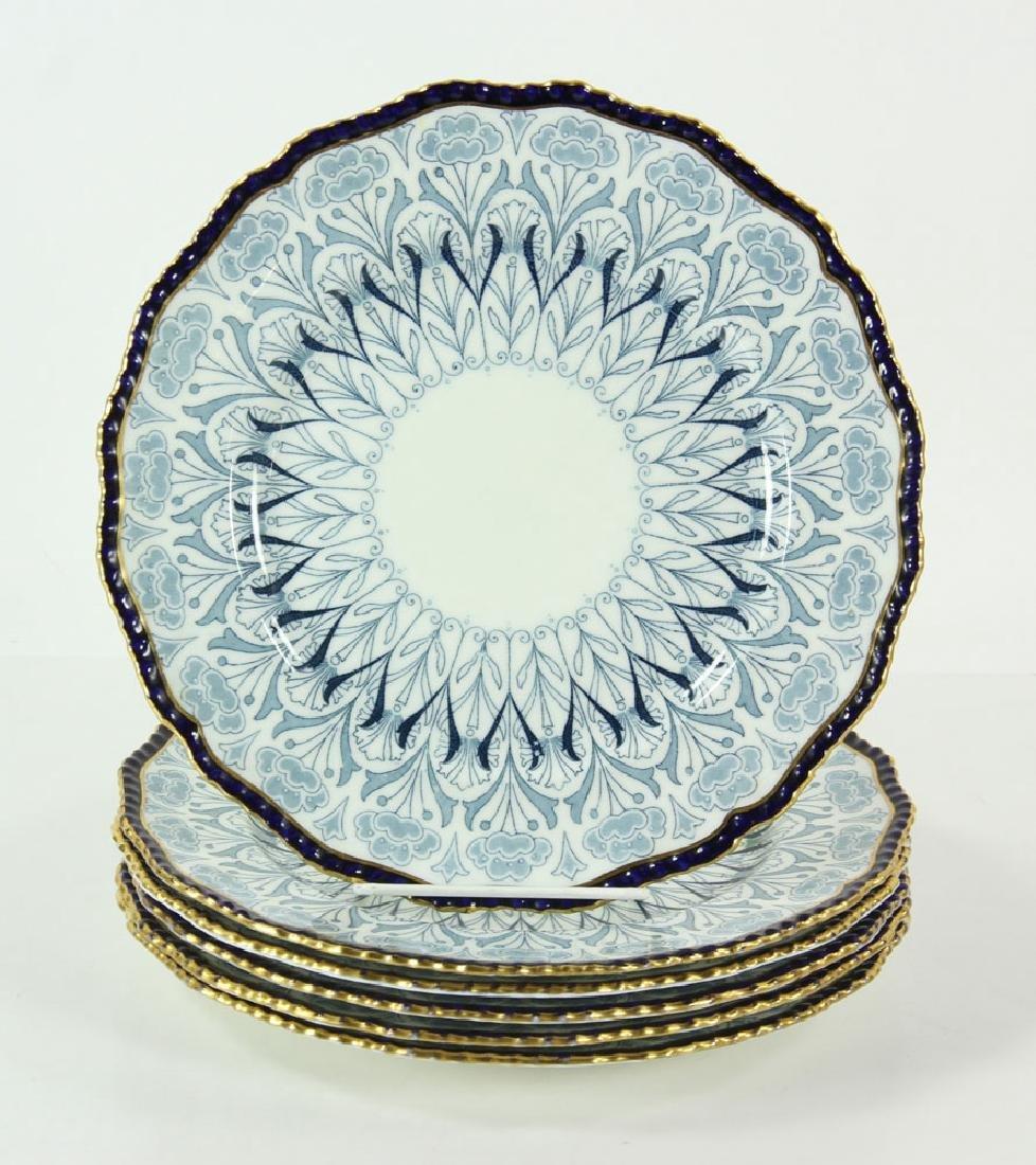 Six Doulton Burlsem Plates