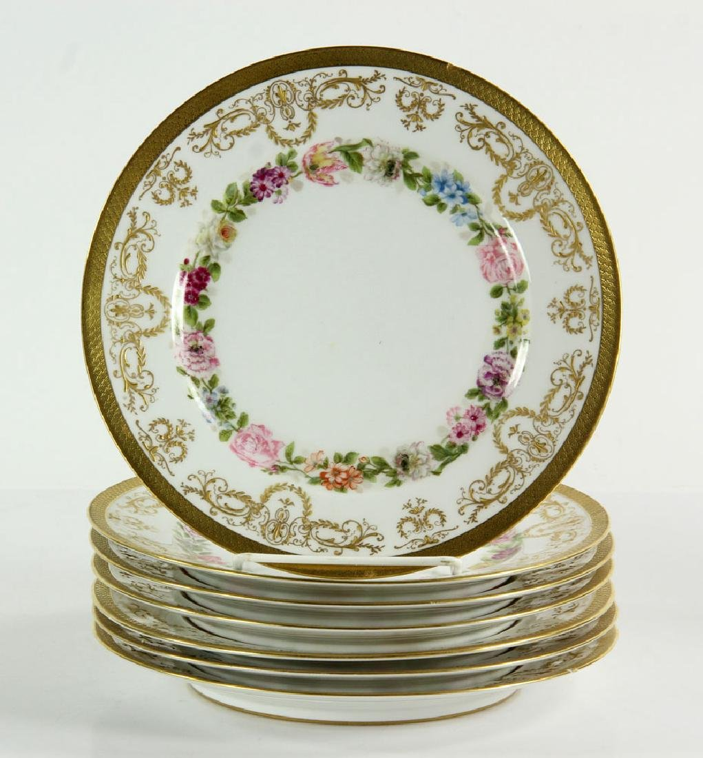Lot of Twelve Limoges Plates - 2