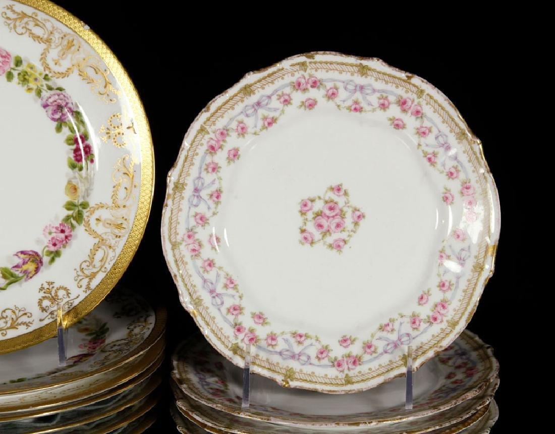 Thirteen Limoges Porcelain Plates - 2