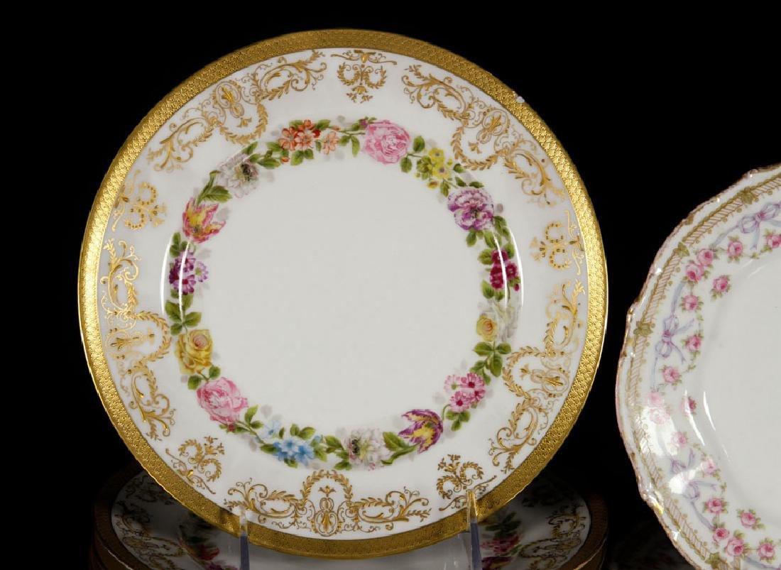 Thirteen Limoges Porcelain Plates - 3