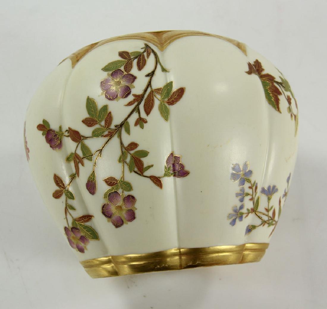 Royal Worcester Cracker Jar and Plate - 3