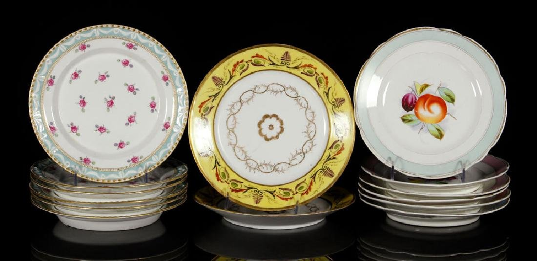 Fourteen KPM Porcelain Plates