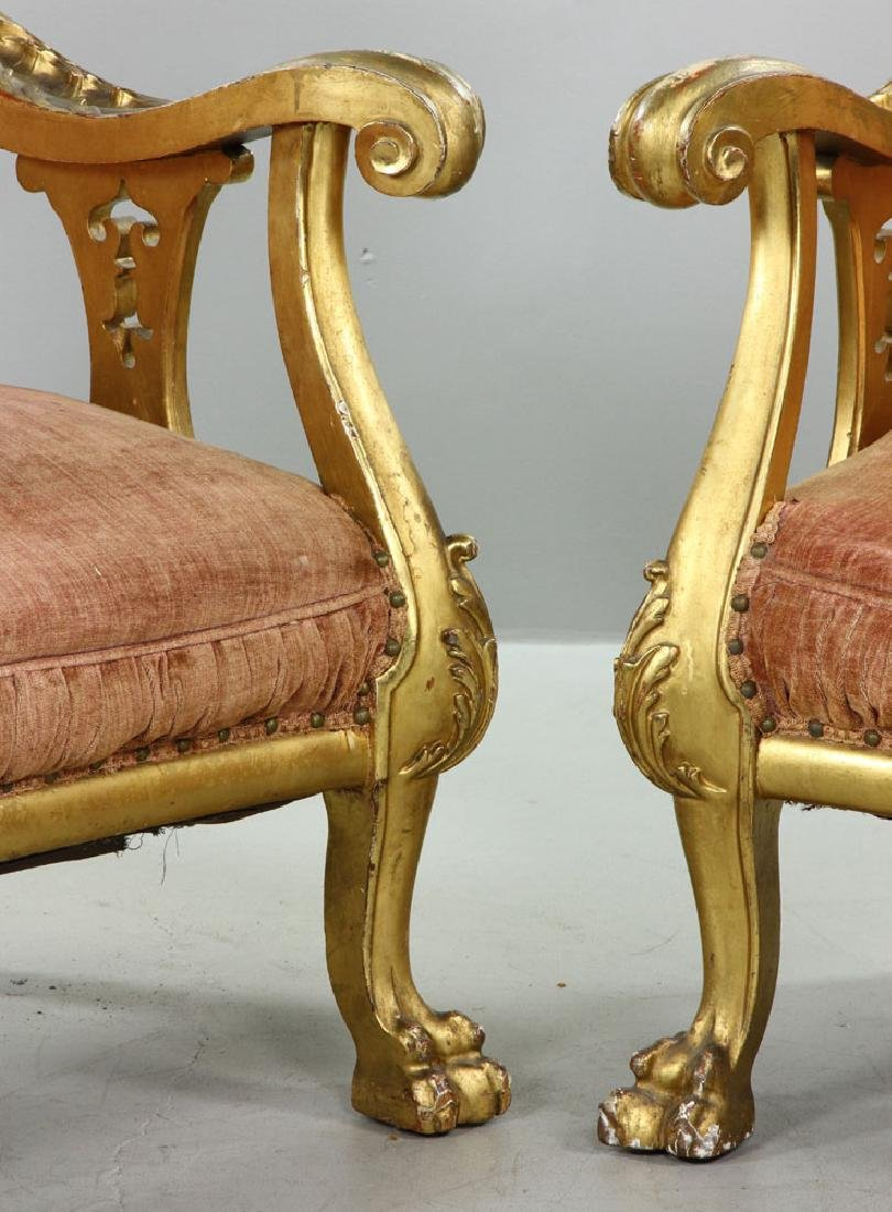 French Louis XV Parlor Set - 2
