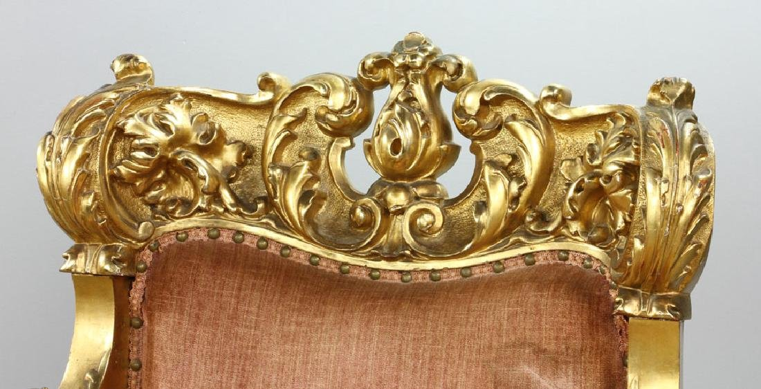 French Louis XV Parlor Set - 4