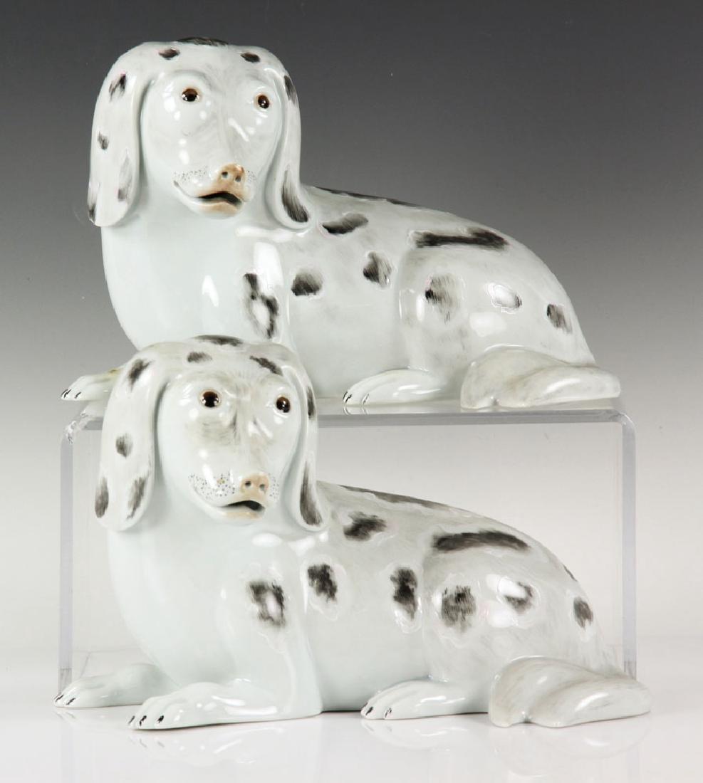 Pr. Mottahedeh Spaniel Dog Figures